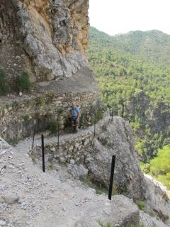 Amazing walks on the acequia above Nerja