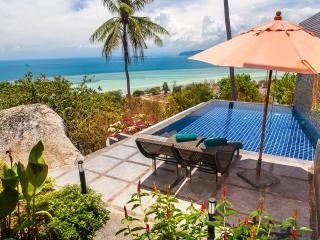 Exotic & Romantic, Ocean View, One Bed Villa with Free Transfer
