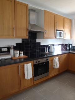 Kitchen - spacious and fully equipped
