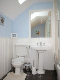 Family Bathroom with Power shower