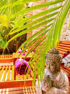 Balinese style in villa Caly.