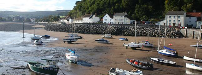 Boats in Minehead Harbour
