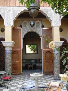 Riad and patio