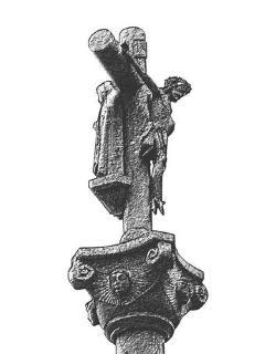 Cruceiro Cristo de Barbas