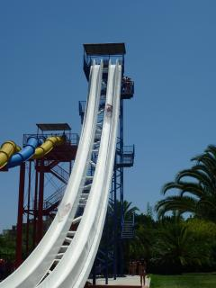 The Water park near by