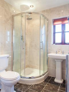 Bathroom with High Power Shower