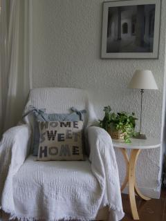 cosy relaxing chair in sitting room