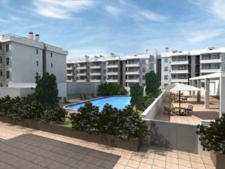 Almenara Playa, precioso apartamento junto al mar. Urbanizacion PORTA DE LA MAR.