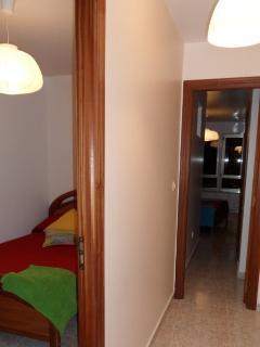 vista de las 2 habitaciones