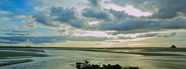 The Baie of Mont St Michel is 30 minutes away from La Befferie