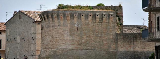 Offida Medieval Castlewalls