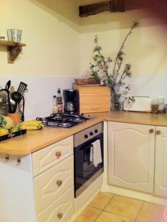 well equipped kitchen in La Befferie