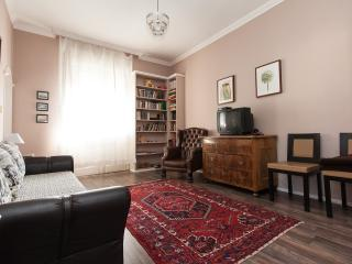 1 bedroom apartment fireplace, Budapest