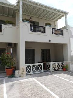 Terrace and entrance