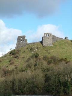 Drslwyn Castle is just 10 minutes drive from Golden Grove Cottages.