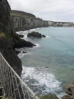Carrick-a-rede Rope Bridge is just 14.3 miles from the property and definitely worth a visit!