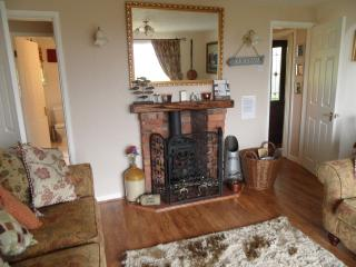 Lounge with log burner for your use, cosy nights in are one of our favourites