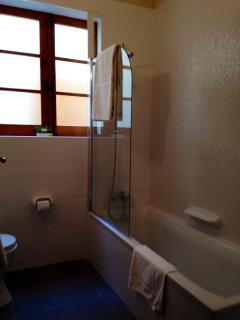 Family bath room with bath tub /shower