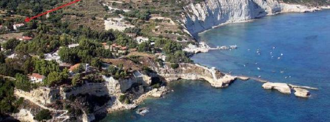 Coast line of Spartia - Ideal for fishing, swimming, serfing, diving etc