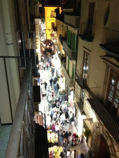 via S.Cesareo by night