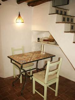 Dining table made with traditional tiles (seating for 4)