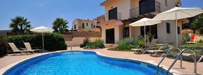 Villa Frontage and Pool