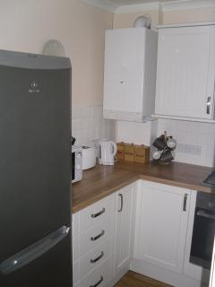 large 50/50 fridge freezer