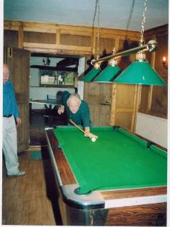 Pool Room - there are a few more balls