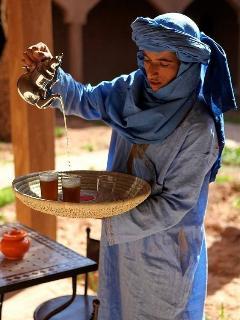Berber wesky tea
