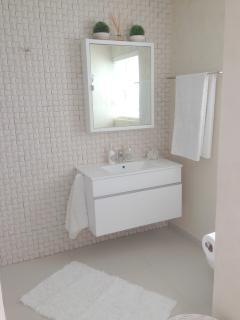 Bedroom 1 - En-Suite Bathroom (walk-in shower to the right)