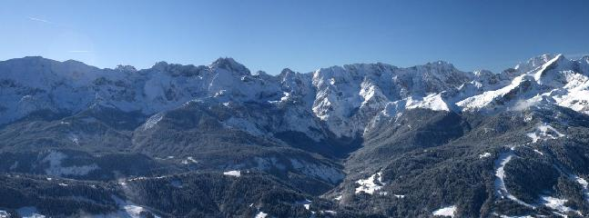 Garmisch-Partenkirchn in wintertime