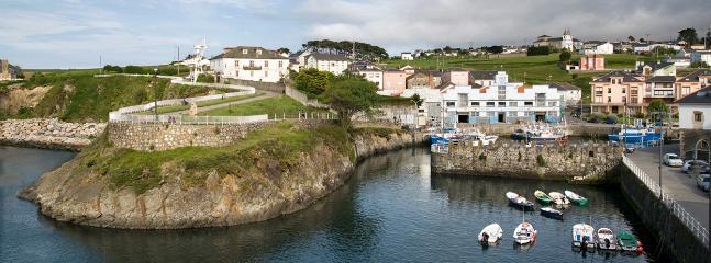 Puerto de Vega, precioso, marinero y señorial puerto del Occidente de Asturias.