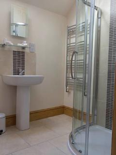 Seperate Shower Room adjacent to the twin bedroom ,all towels are provided