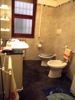full equipped bath room. hot shower, towels, hair drier for your comfortable