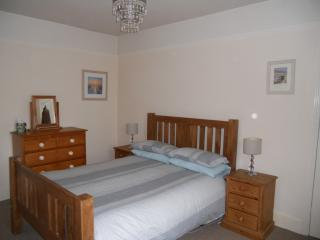 Bedroom 1 is a spacious room with a double bed plus television. Sleeps 2