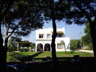Villa PINOS a 100m de la playa, jardin paraiso 10,000m2 (12/15 pers)