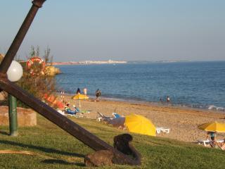 St Eulalia beach (5min drive from apartment) looking towards Villamoura