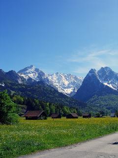 Garmisch at springtime