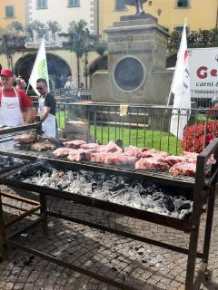 ...the legendary fiorentina steack at a local festival