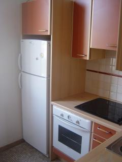Kitchen: equiped with fridge, freezer, over, dish washer, micro wave