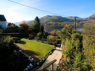 Private terraced garden