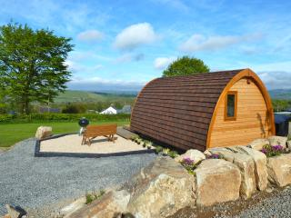 Glamping Mega Pod at Winllan Farm Holidays
