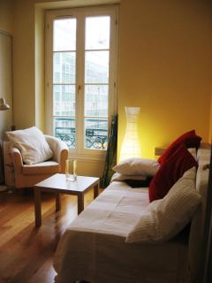 Guestroom in the evening