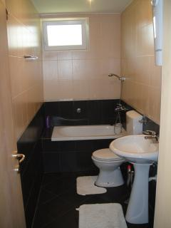 Ground Floor Apartment Bathroom with Shower and Bath