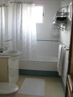 En-suite bathroom to bedroom one