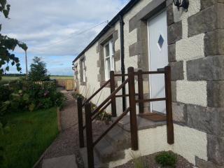 Door to 1 Cambusmichael Cottage