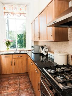 Self Catering Scotland - well equipped kitchen