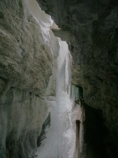 Partnachgorge in winter