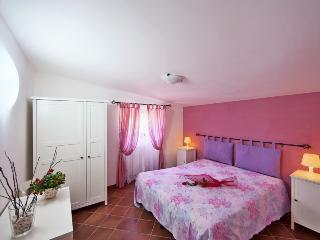 Pink double bedroom