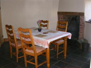 Dining Room again with wood burner